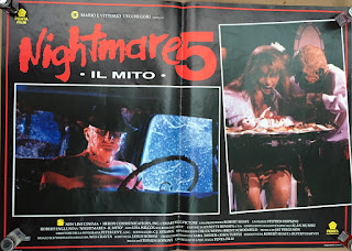 Italian Lobby card Nightmare 5 1 of 4  26x19 #1