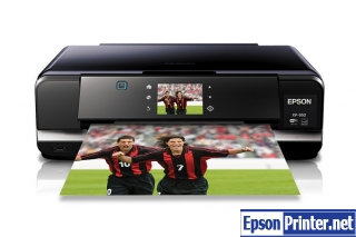 Reset Epson 950 printing device with application