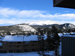 The view from my hotel room at the Great Divide Lodge