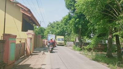Akses Jalan Kantor Kecamatan Cilebar Segera di Perlebar