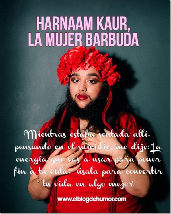 mujer barbuda