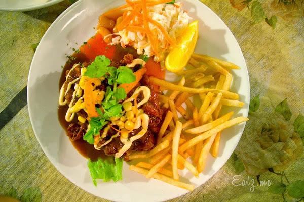 Chicken Oriental with BBQ Sauce