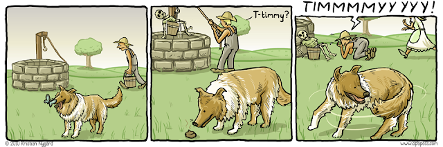 Optipess - Lassie Spoof, Timmy in the Well