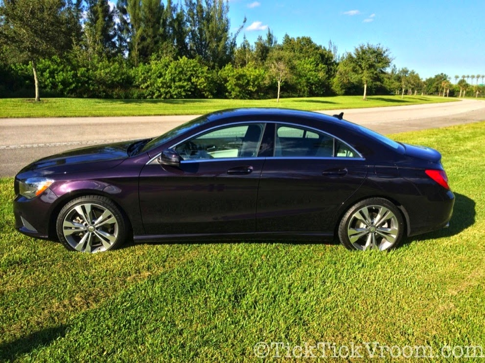 2014 Mercedes-Benz CLA250 Long-Term Test Car - Northern Lights Violet Metellic Long Term Review Road Test 4043 2