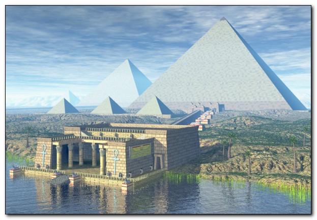 Пруд и камень, вот так пирамида и построилась