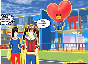 ID Tata Boutique Di Sakura School Simulator