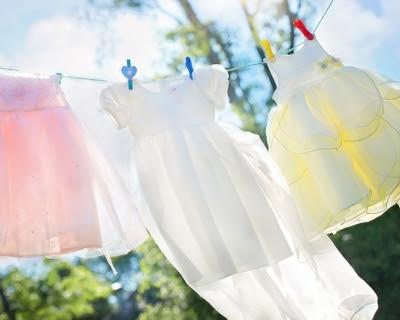 стирка детской одежды