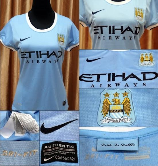 Jual Jersey Cewek Manchester City Home Terbaru 2014