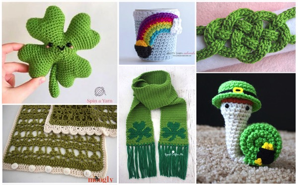 20 StPatricks Day Crochet Projects