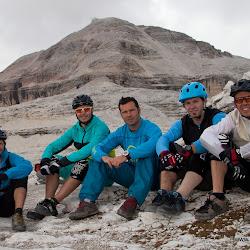 Fotoshooting Dolomiten mit Colin Stewart 03.10.12