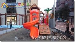 國際蒙特梭利竹北幼兒園 Babybuild原木遊具