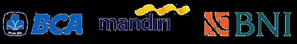 logo bank Bri mandiri bca