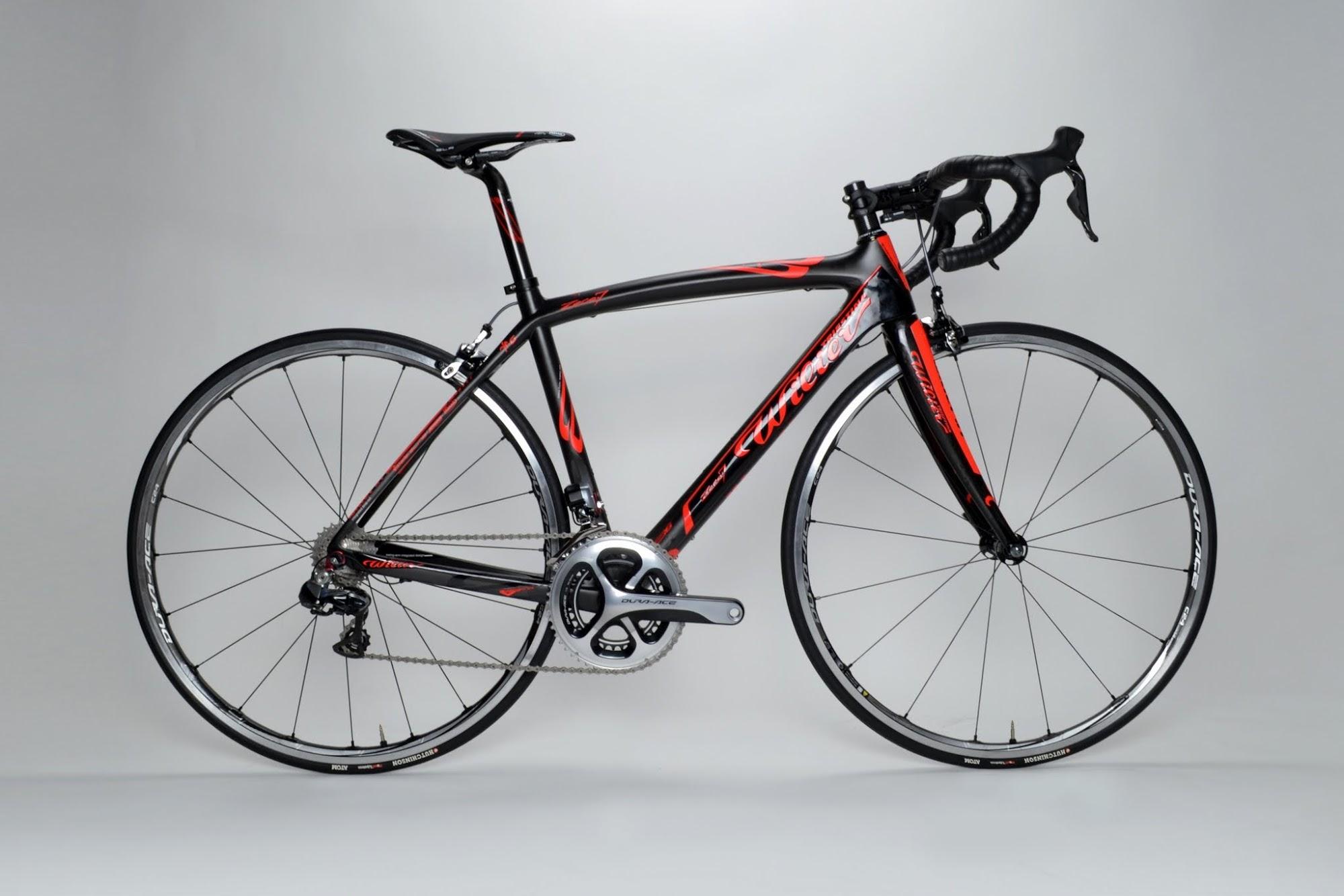 www.twohubs.com: Wilier Triestina Zero.7 Shimano Dura Ace 9070 Di2 Complete Bike at twohubs.com