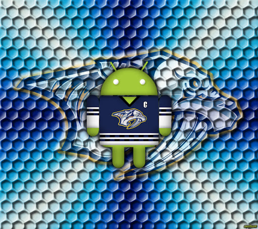 Nashville Predators Android Wallpaper by eyebeam