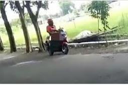 Viral Video Pria Onani Di Atas Motor