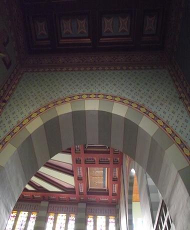 Detalhe interno da Capela