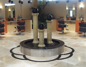 Flooring & Mosaics, Fountain, Interior, Medallions