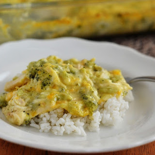 Creamy Chicken and Broccoli Casserole.