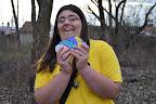 Rebeka má spoustu vajíček (a vůbec jí není zima)