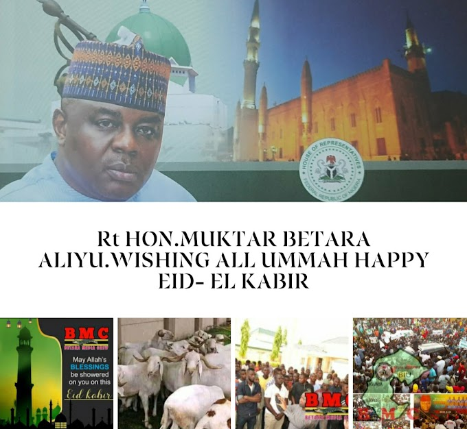 Rt HON BETARA.Wishing all ummah Eid-Mubarak in advance,may Allah grant us the ability to witness many more years in good health and wealth & grant our Nation sustainable peace and stability.Amin