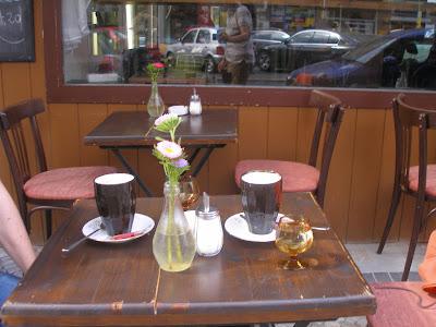 Kaffee in Tempelhof