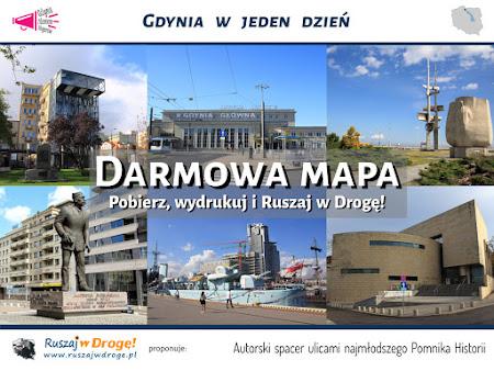 Ruszaj w Drogę - Gdynia w jeden dzień - Spacer ulicami najmłodszego Pomnika Historii