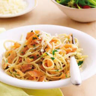 Salmon Pasta Healthy Recipes.