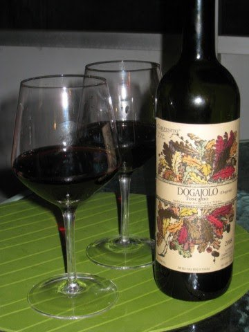 Chucky - The Fat Vegetarian: Wine Tasting - Dogajolo Tuscano 2008