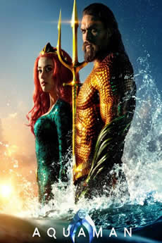 Capa AQUAMAN (2018) DUBLADO E LEGENDADO TORRENT 720P E 1080P