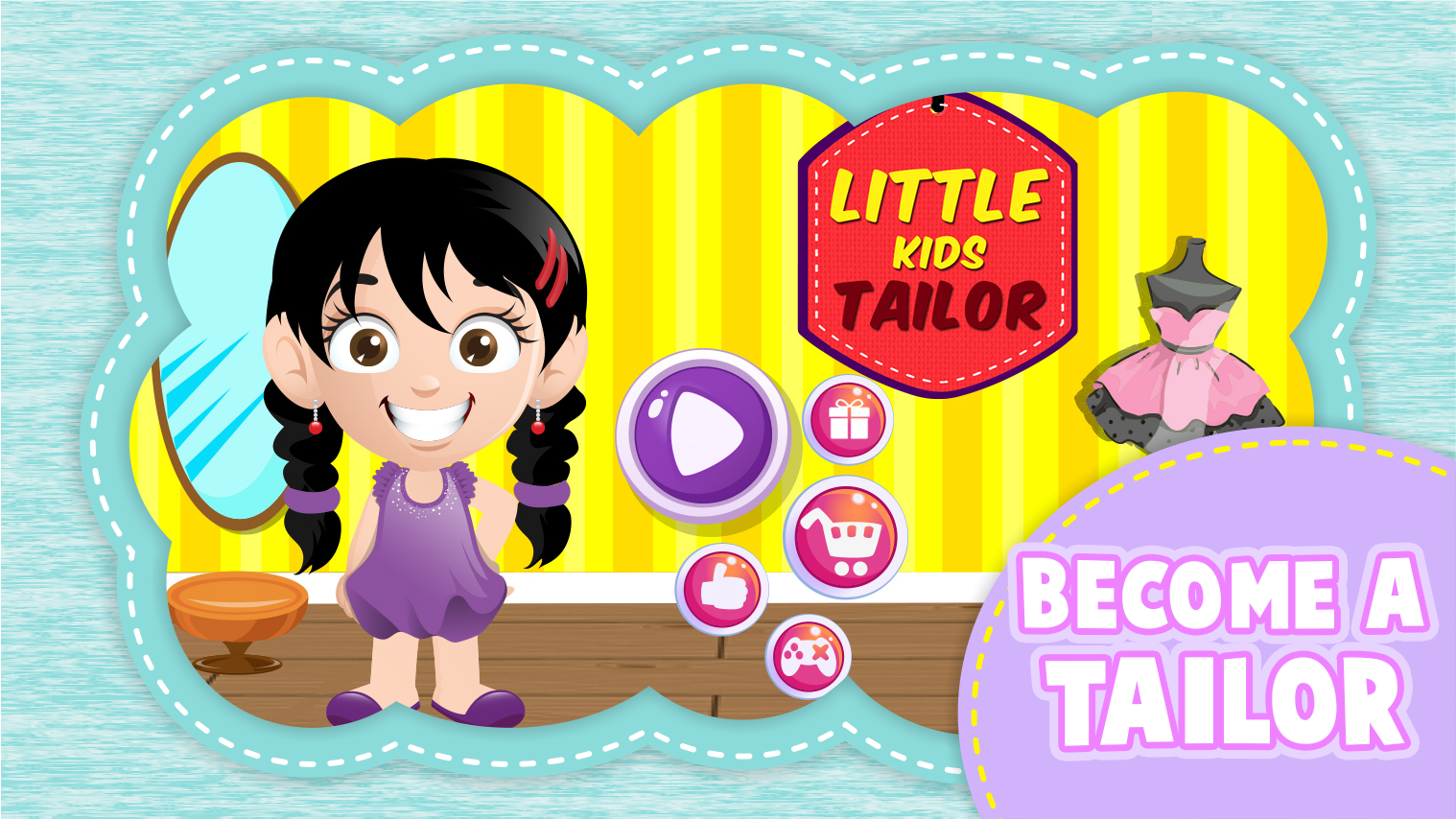 Sedikit Anak Anak Tailor Fun Apl Android Di Google Play