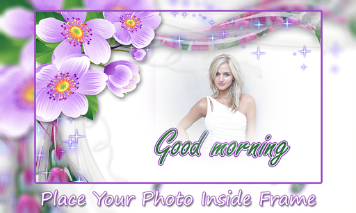 Good Morning Photo Frames app (apk) free download for Android/PC/Windows