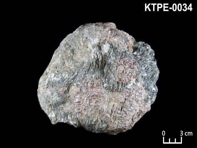 KTPE-0034 鐵鋁榴石, 鋇鎂脆雲母