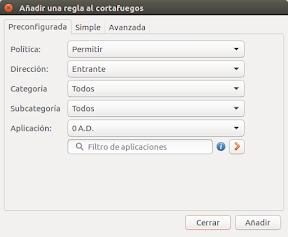 Protege Ubuntu en redes públicas - reglas preconfiguradas