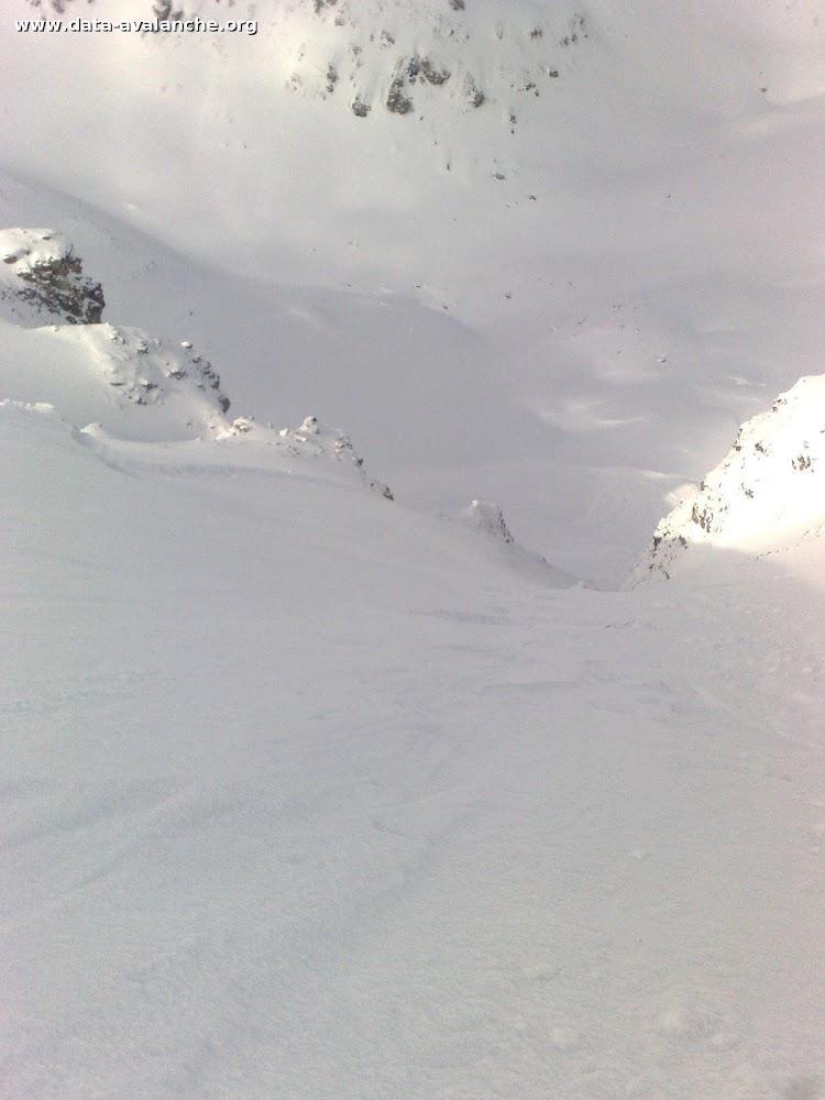 Avalanche Vanoise, secteur Aiguille percée, Col de la Sachette - Photo 1 - © COLAS-ADLER Arnaud