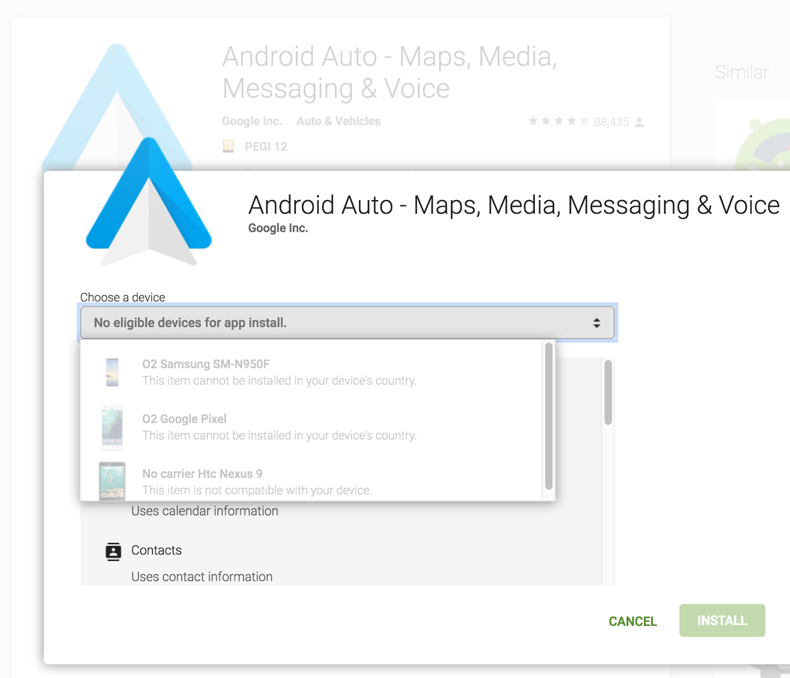 Android Auto availability in other countries - Android Auto Help