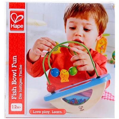 Hình ảnh hộp đồ chơi Luồn hạt Cá vui nhộn Hape Fish Bowl Fun