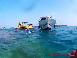 pulau harapan, 15-16 agustus 2015 sjcam 48