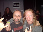 meeting Harry again backstage at Roadburn, where we both were to meet VOIVOD