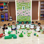 Green Day celebration in Nursery at Witty World