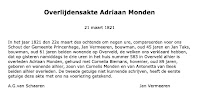 Monden, Adriaan Overlijden 21-03-1821 Tekst.jpg