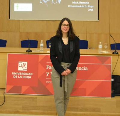 Iris Bermejo. (Foto: Universidad de la Rioja)