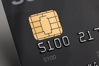 Gambar Chip Pada Kartu ATM