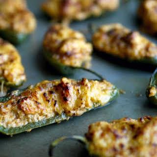 Healthier Spicy Ground Turkey Stuffed Jalapenos.