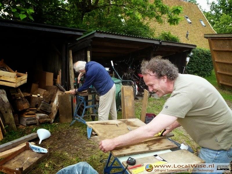 Ecotoiletten workshop op Aardewerk de Stegge, Winterswijk 2014-3