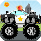 Police Car and Firetruck Games
