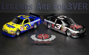 Dale Earnhardt Sr Legends Are Forever Wallpaper