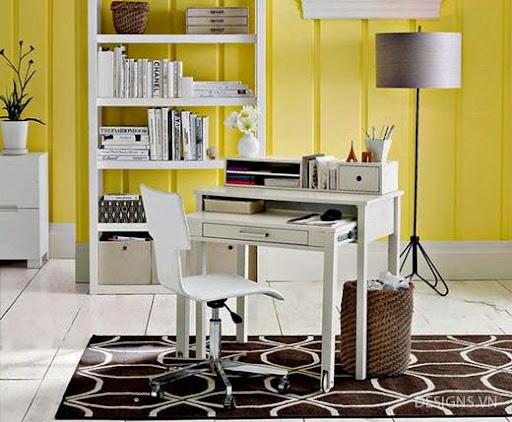 Các mẫu thiết kế nội thất phòng đọc sách P1-23