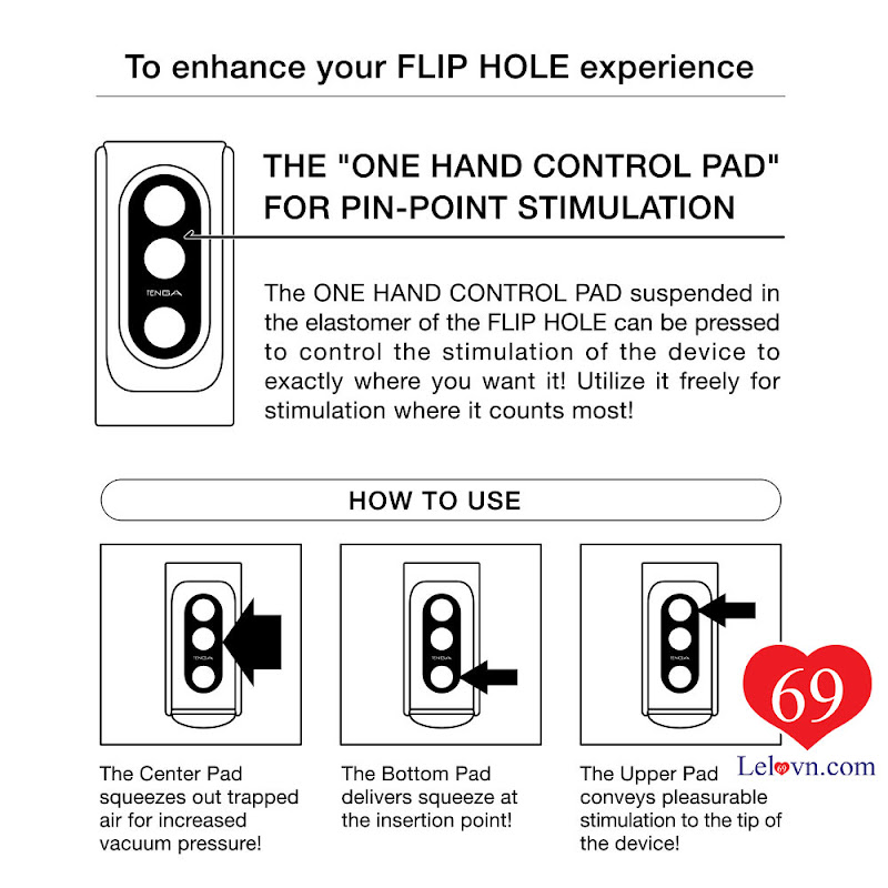 Cách sử dụng và bảo quản Tenga Flip Hole While