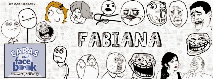Capas para Facebook Fabiana