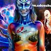 Bodypainting Udo Schurr-Bodypainting Festival